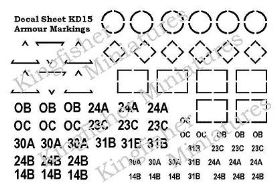 Armour Markings - White